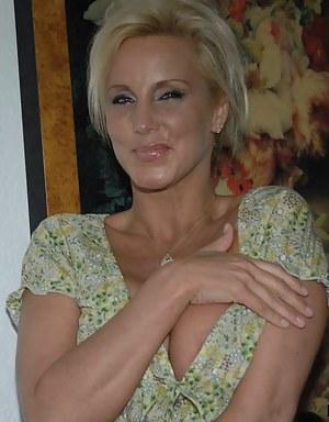 Blonde MILF Porn Pictures